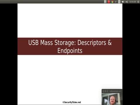 USB Mass Storage: Descriptors and Endpoints