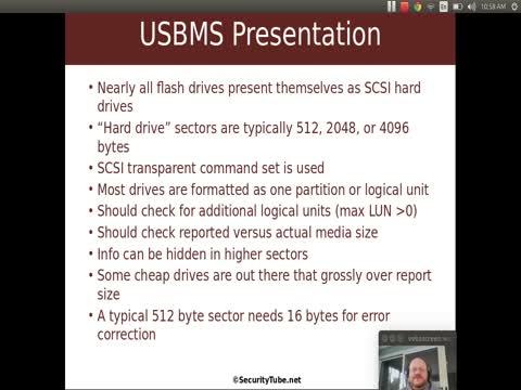USB Mass Storage: Presentation