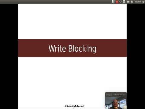 Write Blocking