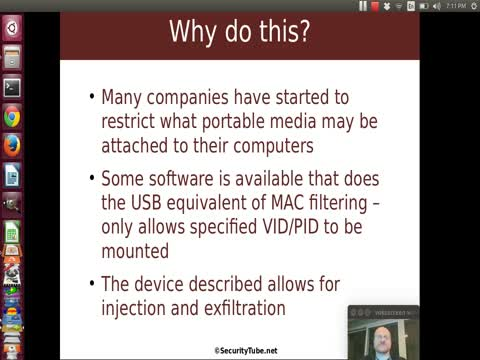 USB Mass Storage Impersonation Part 1
