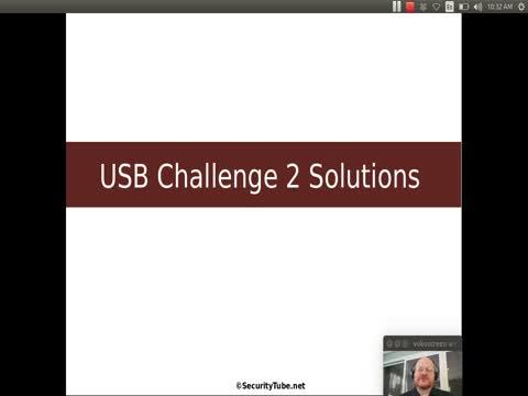 USB Challenge 2 - Solution