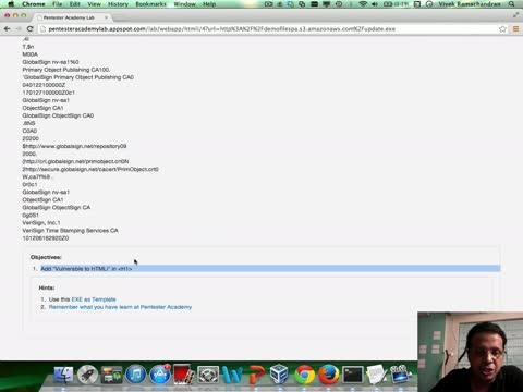Challenge 18: HTML Injection III