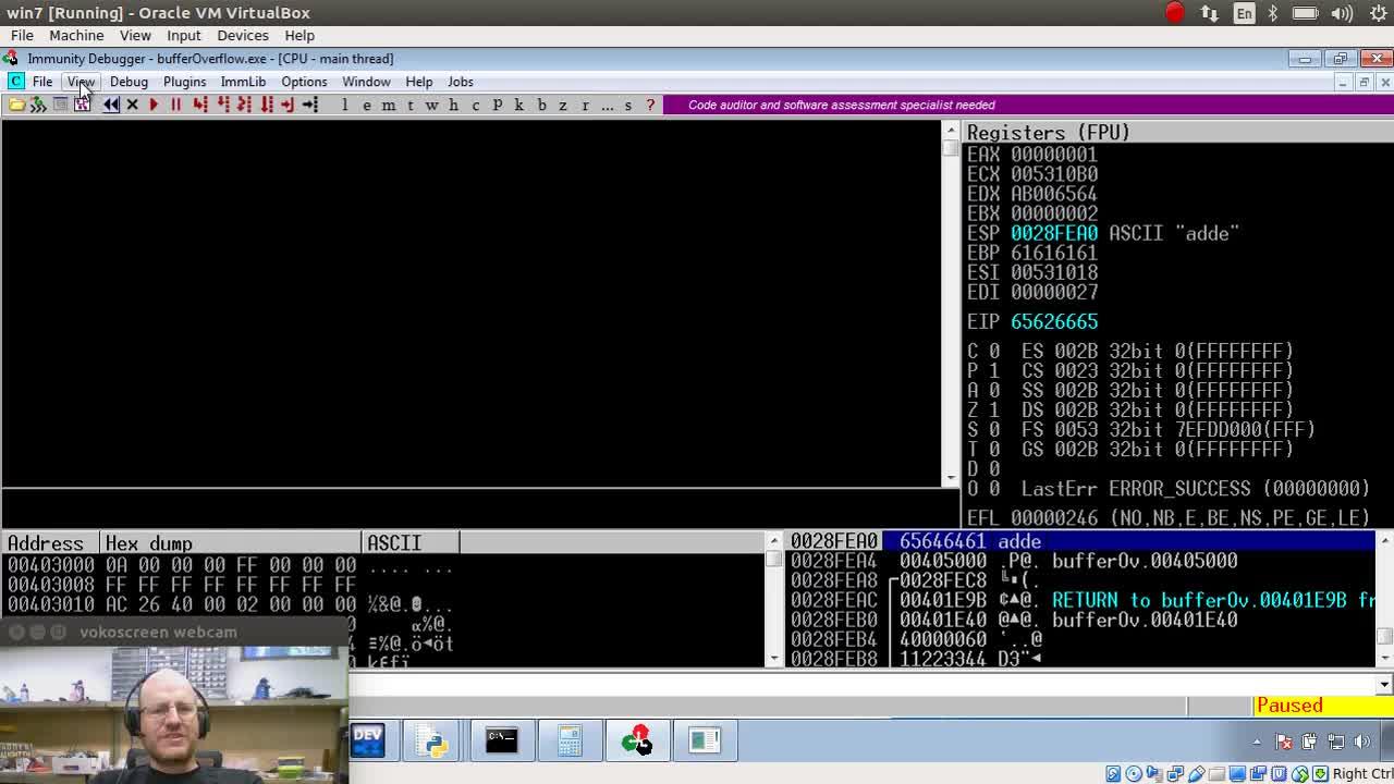 Stack Buffer Overflows Part 5: JMP ESP