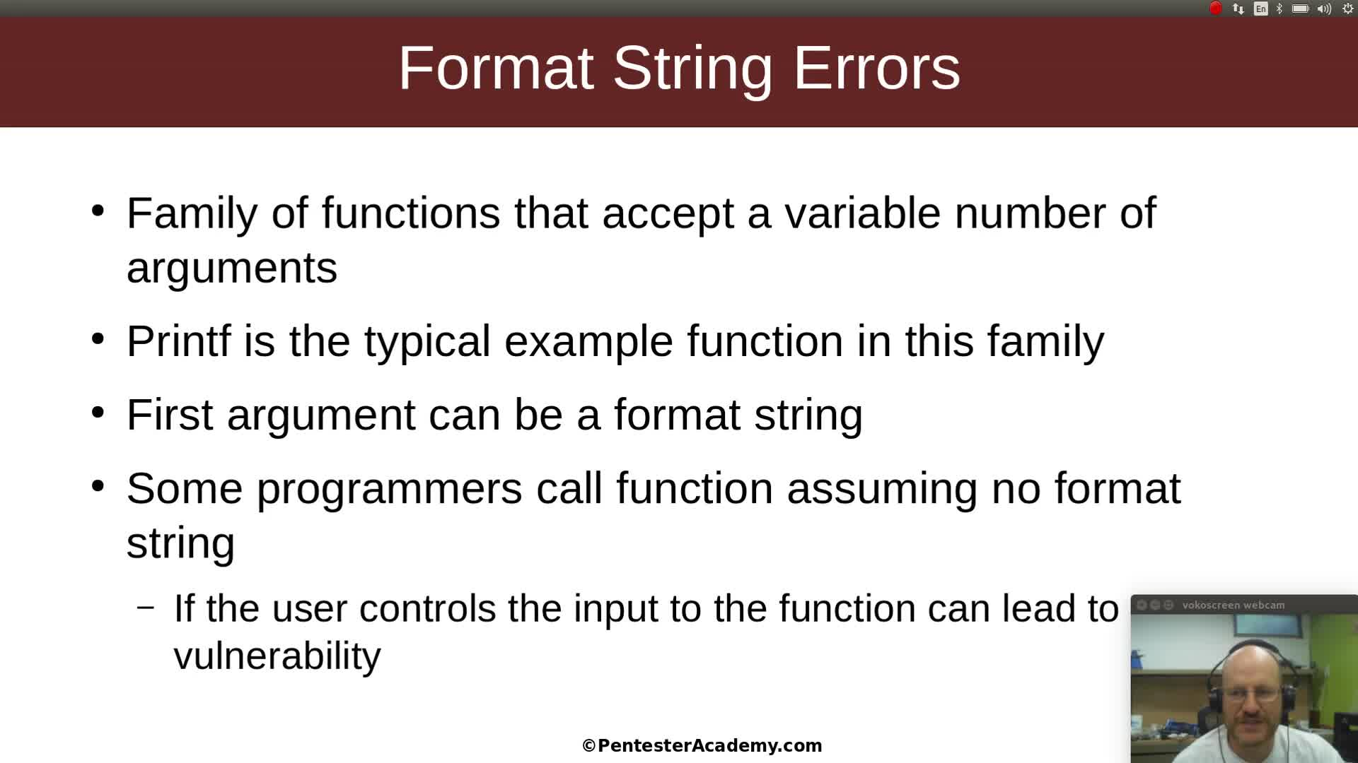 Format String Errors Part 1: The Basics