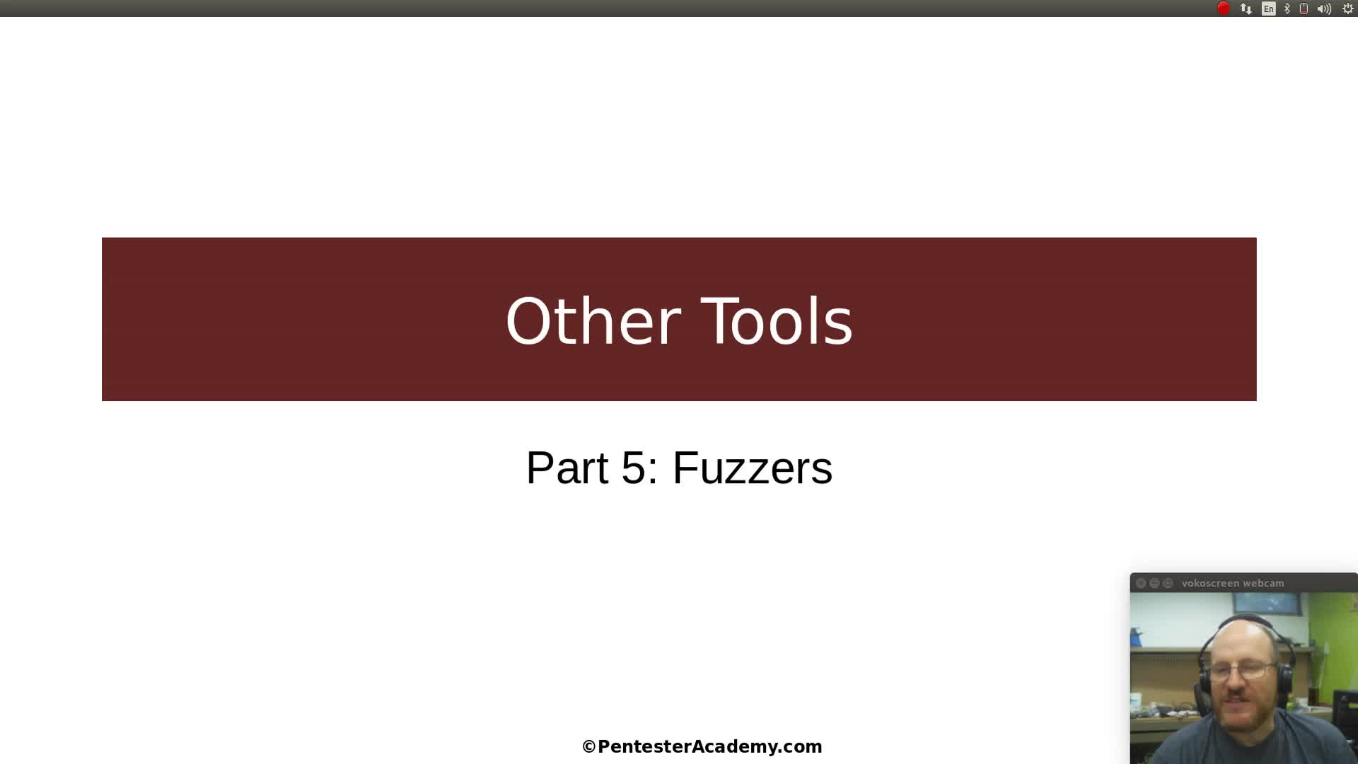 Other Tools Part 5: Fuzzers