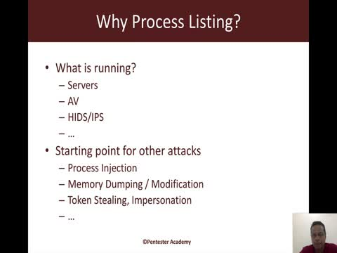 Process Listing API