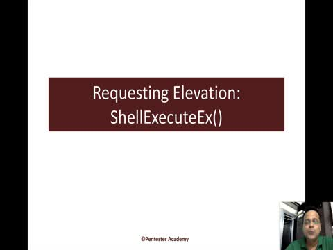 Requesting Elevation using ShellExecuteEx
