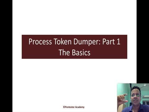 Process Token Dumper Part 1: The Basics