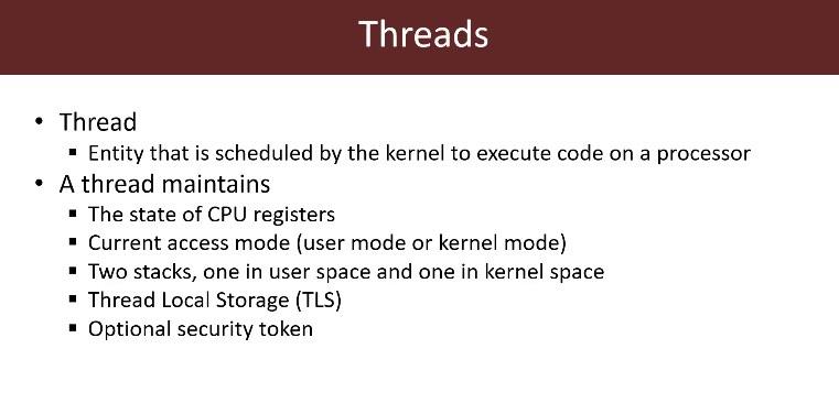 Module 1: Threads