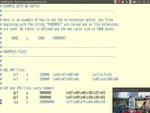 File Forensics Part 6: using Scalpel to Carve Files