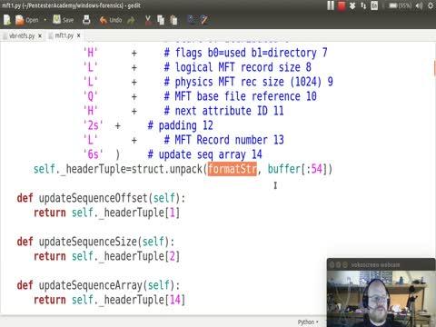Python and NTFS Part 2: MFT Headers