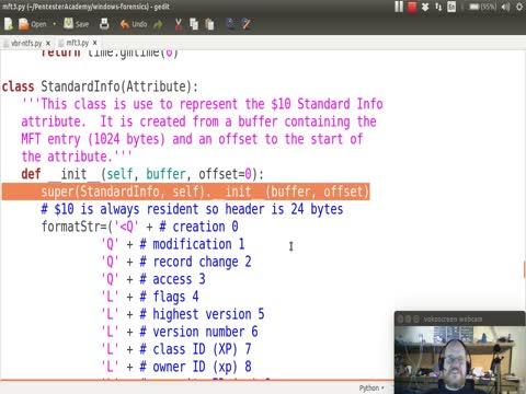 Python and NTFS Part 4: Standard Info