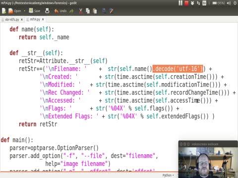 Python and NTFS Part 5: Filename Attribute