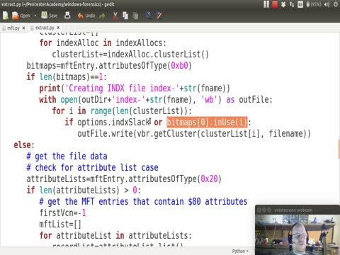 Python and NTFS Part 12: Enhancing the Extract Script