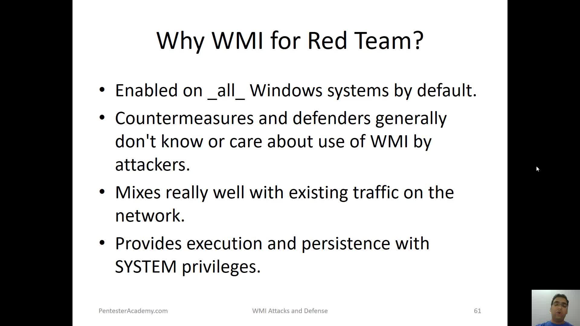 Info Gathering with WMI