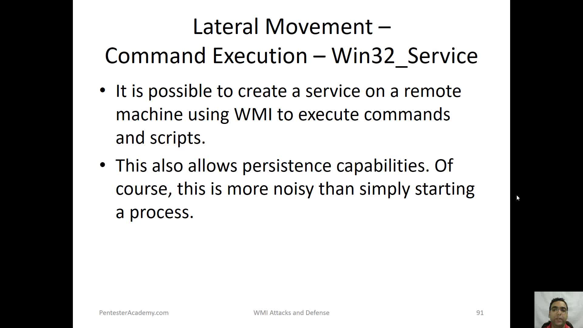 Lateral Movement - Command Execution Win32 Service