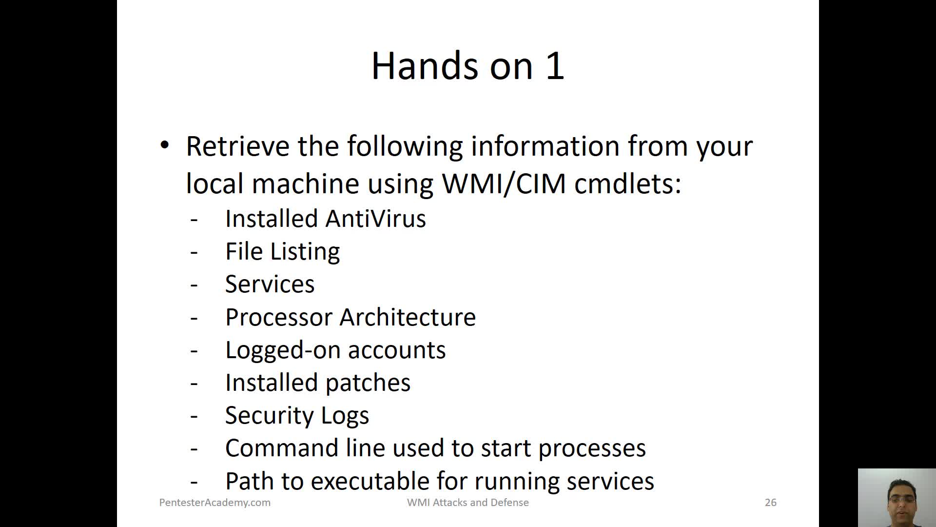 Using WMI Methods