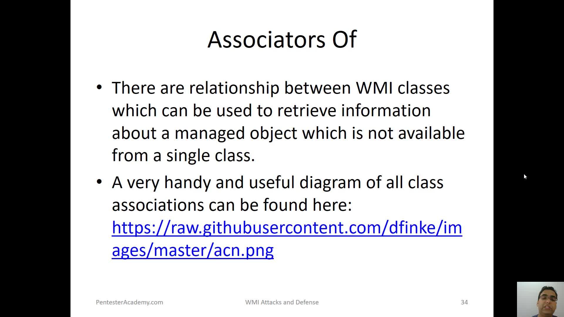 WMI Associations