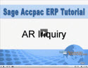 AR Inquiry Gives You Quick Access to All Customer Details