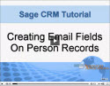 Adding Email Fields to Person Records in Sage CRM
