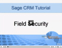 Field Security in Sage CRM