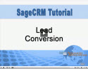 Lead Conversion in Sage CRM
