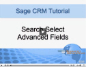 Search Select Advanced Fields in Sage CRM
