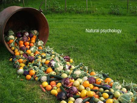 NATURAL PSYCHOLOGY