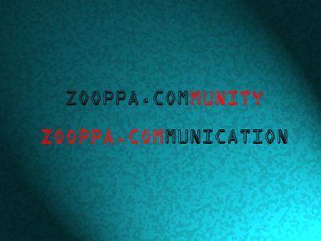 ZOOPPA.COMmunity
