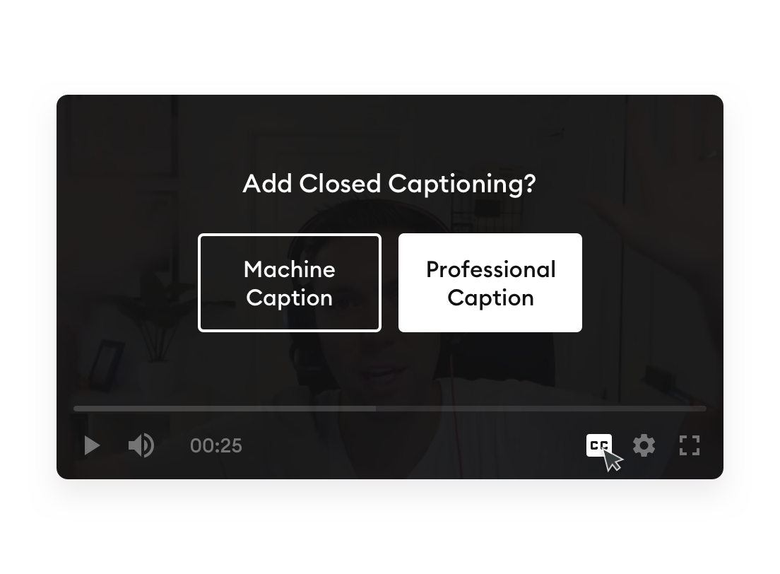 Add ADA Compliant Closed Captioning