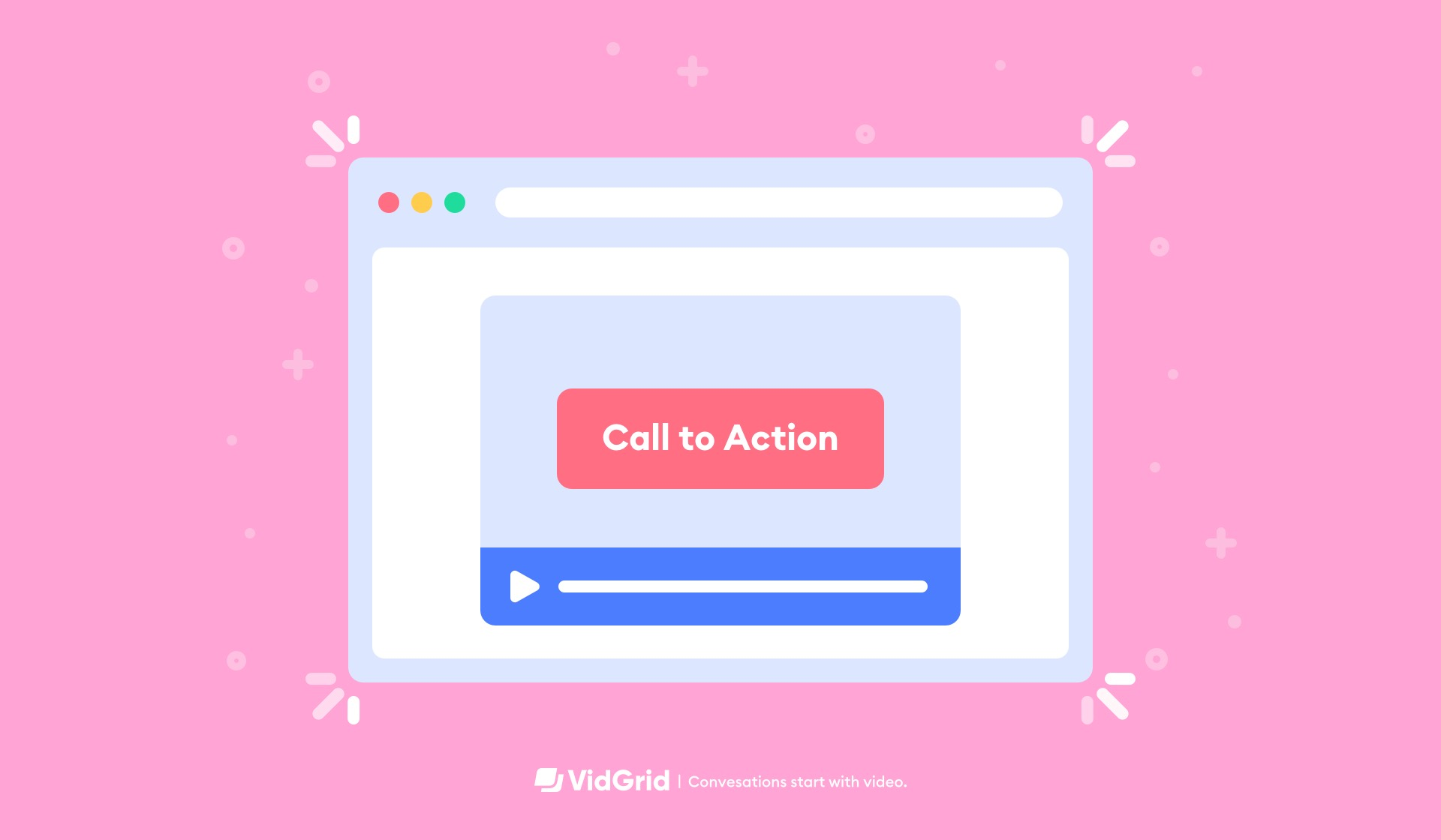 Video Calls-to-Action