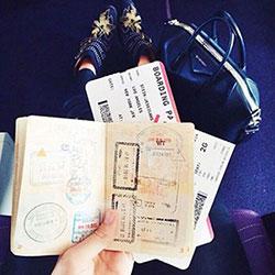 Visa Stamped