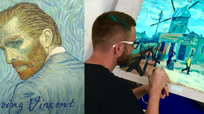 The Labor of Loving Vincent: Animating Van Gogh to Solve a Mystery