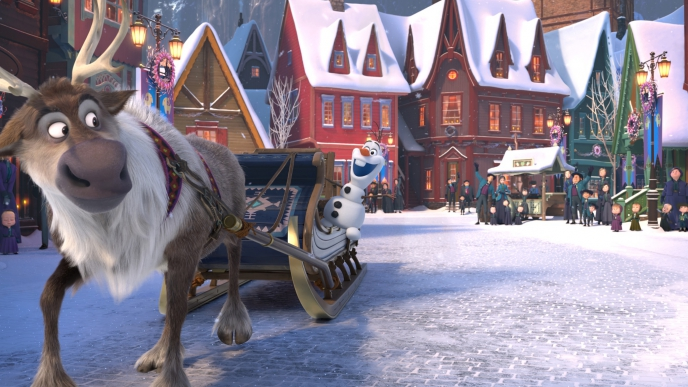 Walt Disney Animation Studios - Casting lights and shadows in the Kingdom of Arendelle
