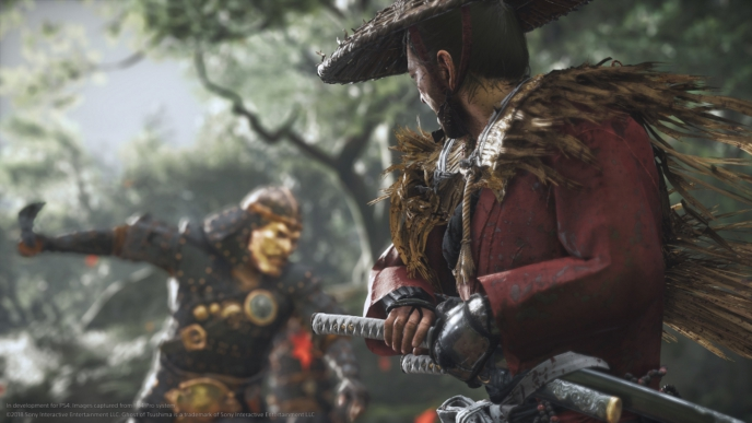 Creating Ghost of Tsushima's sword swinging gameplay demo