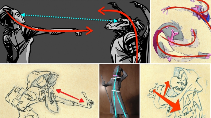 A Graphic Look at Animation Posing and Staging