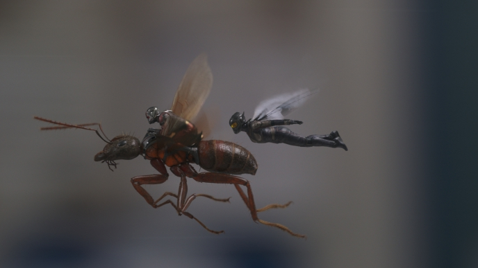 Ant-Man and the Wasp - Invisible VFX greatness for unnoticeably tiny heroes