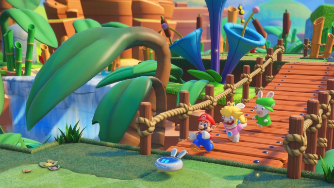 The Animation Pipeline of Mario + Rabbids Kingdom Battle
