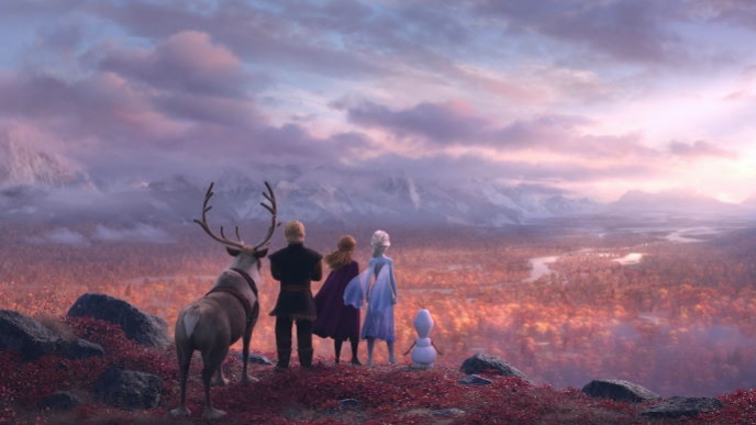 Creating the Elements of Frozen 2