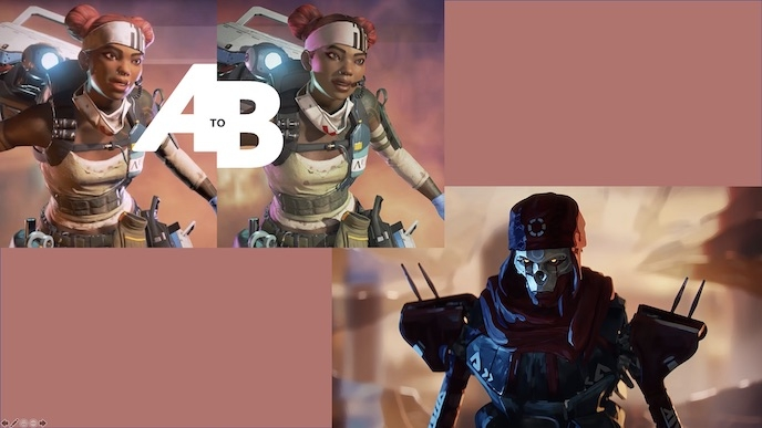 A to B: Apex Legends Live Service Look Dev Expedition