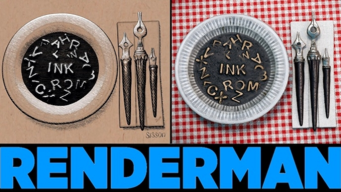 The Latest in RenderMan: Making Non-Photorealistic Images with Stylized Looks