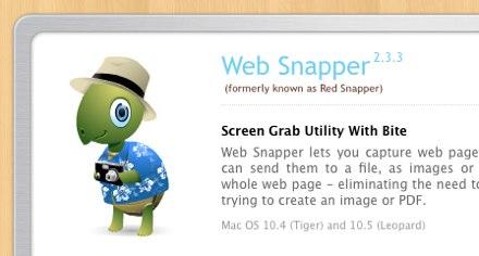 Web Snapper