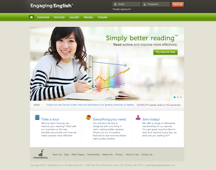 Engaging English Homepage