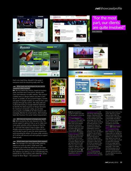 .net magazine viget profile page 2