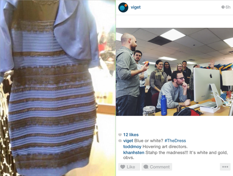 What #TheDress reminded me about web design