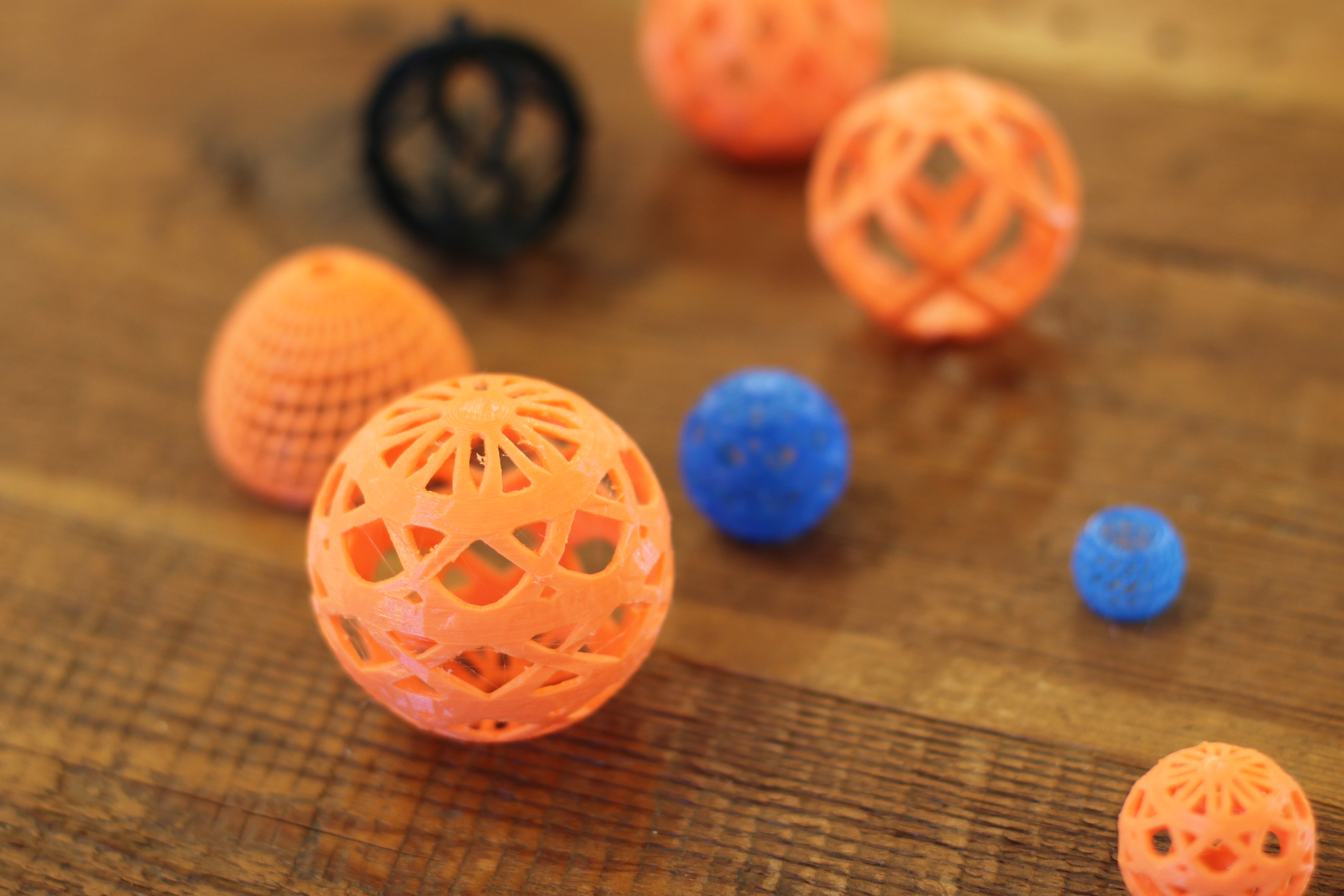 3d-printed orbs