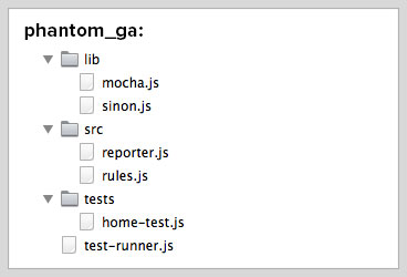 Testing Google Analytics with PhantomJS