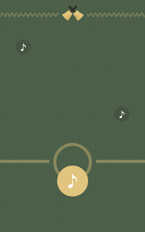 JamBells gameplay screen