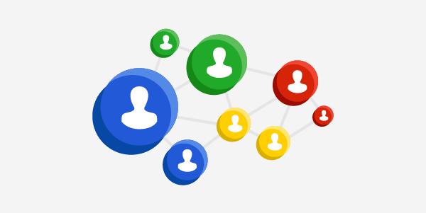 Connected Social Media Nodes