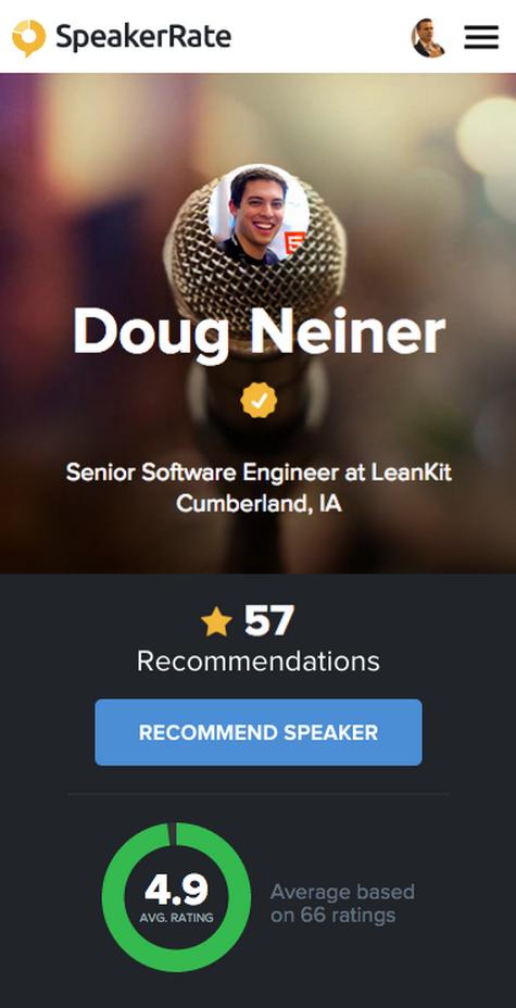 SpeakerRate profile
